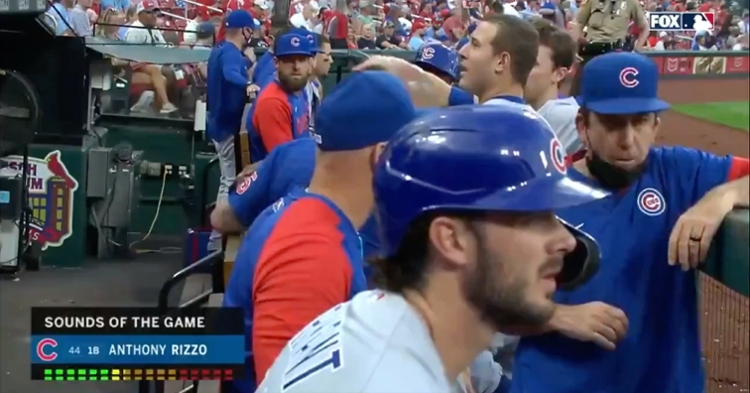 While Anthony Rizzo was likely joking about wanting nachos, eating a greasy snack in the midst of a game is something the jokester would do.