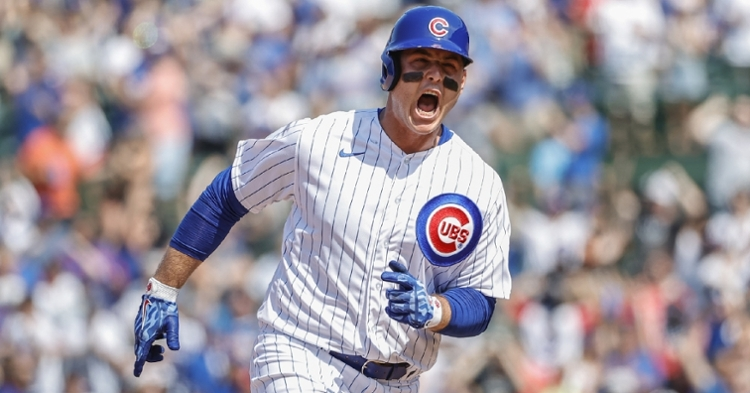 Best wishes on Rizzo's full recovery from CubsHQ (Kamil Krzaczynski - USA Today Sports)