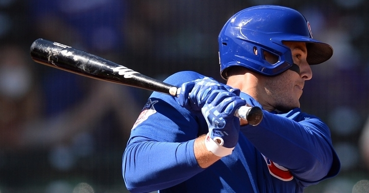 Rizzo will bat cleanup today (Joe Camporeale - USA Today Sports)