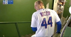 WATCH: Anthony Rizzo hits walkoff single, immediately runs to clubhouse