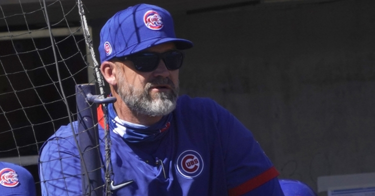 Cubs manager David Ross was outspoken against the suspensions recently levied against the North Siders. (Credit: Rick Scuteri-USA TODAY Sports)
