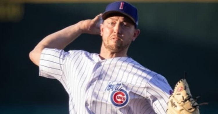 Sampson had a quality performance in the win (Photo courtesy: Iowa Cubs)