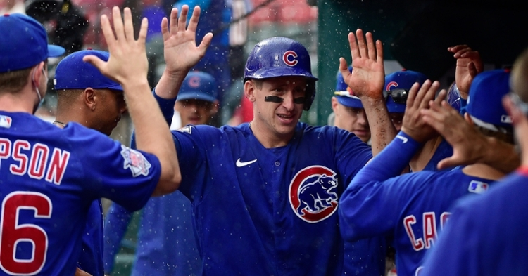 Schwindel was a bright spot for the Cubs (Jeff Curry - USA Today Sports)