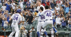 Cubs win fifth straight with Schwindel's clutch walk-off slide
