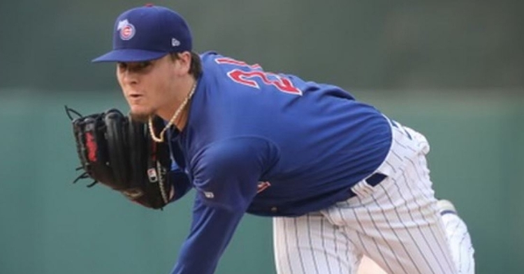 Justin Steele was impressive in 2021 (Photo via Iowa Cubs)
