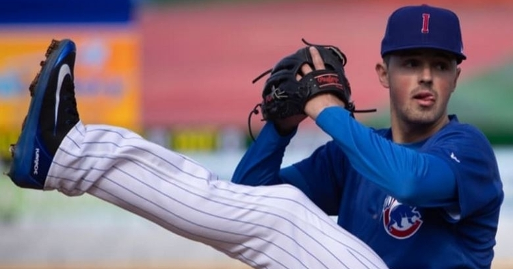 Swarmer had a quality start in the loss (Photo courtesy: Iowa Cubs)