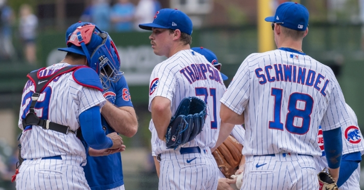 Thompson is a big part of the Cubs future (Patrick Gorski - USA Today Sports)
