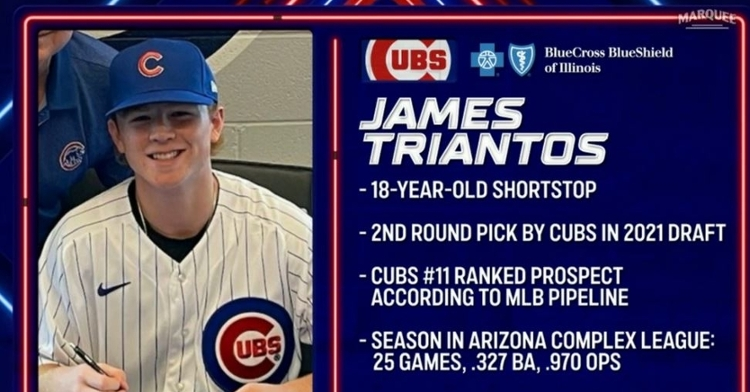 Triantos is an impressive prospect for the Cubs