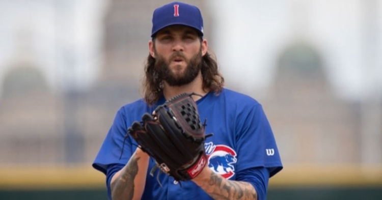 Williams pitched well in his rehab start (Photo courtesy: Iowa Cubs)