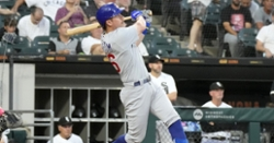 Wisdom smacks two homers in loss to White Sox