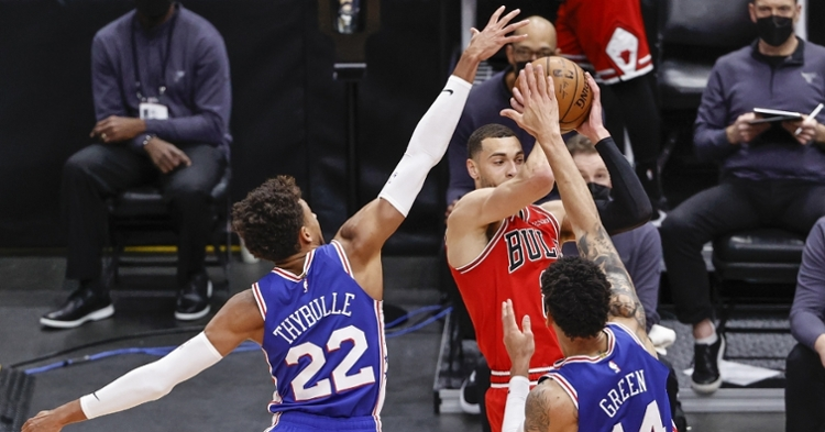 Sixers were too much for the Bulls on Thursday (Kamil Krzaczynski - USA Today Sports)