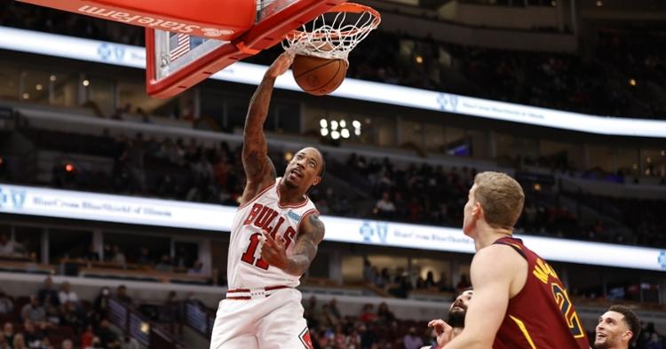 DeRozan was impressive in his first game as a Bulls player (Kamil Krzaczynski - USA Today Sports)
