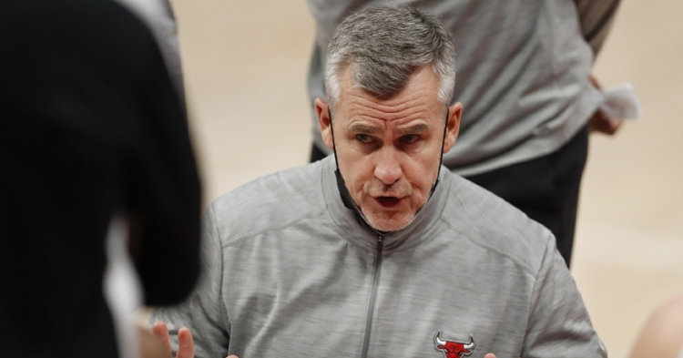 Donovan hopes to make the Bulls a playoff team in 2021 (Raj Mehta - USA Today Sports)