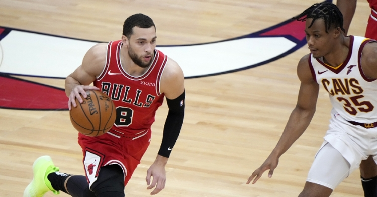 LaVine and Co. got the disappointing loss last night (Mike Dinovo - USA Today Sports)