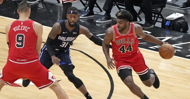 The Bulls are still clinging to a playoff spot (Mike Dinovo - USA Today Sports)