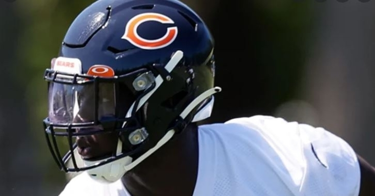 Attaochu is out for the season (Photo courtesy: Chicago Bears)