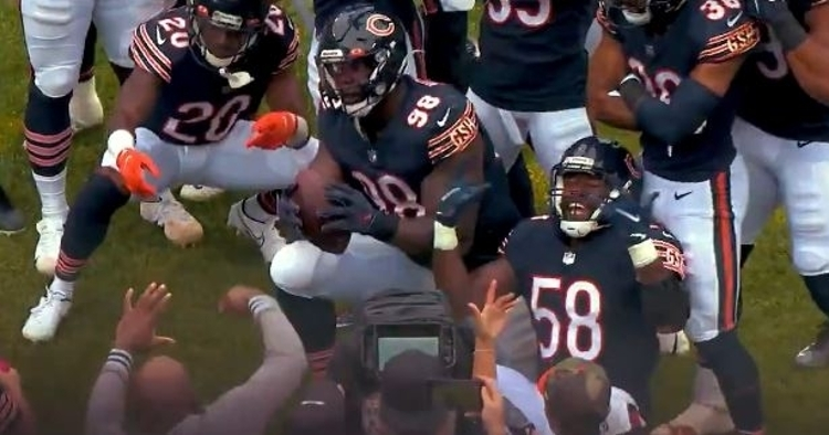 The Bears defense hopes to celebrate on Sunday