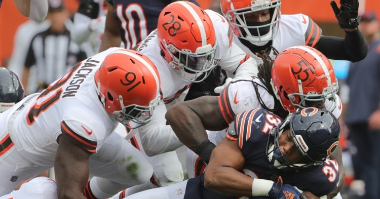 The Browns defense was dominant on Sunday (Phil Masturzo - USA Today Sports)