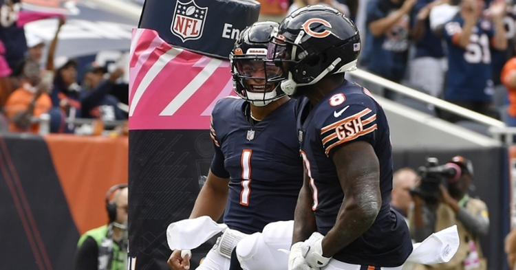 Bears hope to keep their offense rolling vs. the Raiders (Quinn Harris - USA Today Sports)