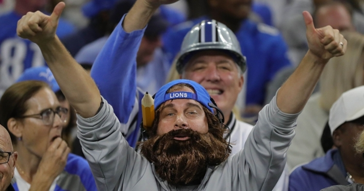 Lions fans hope to get their first win of the season (Kirthmon Dozier - USA Today Sports)