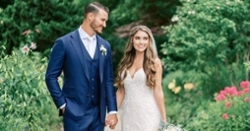 Mitch Trubisky marries fiancée Hillary Gallagher
