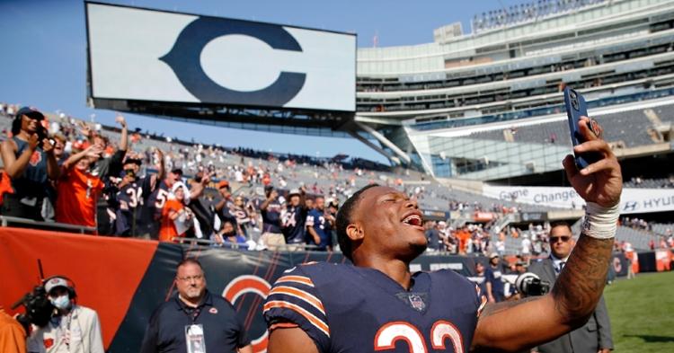 David Montgomery has been impressive this season (Jon Durr - USA Today Sports)