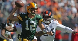 Bears fall to 3-3 as Aaron Rodgers comes up clutch again