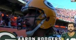 """WATCH: Aaron Rodgers yells at Bears fans """"I still own you"""""""
