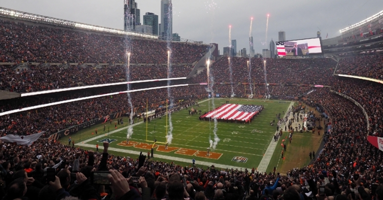 Soldier Field is one of the most iconic places to play football (Jerry Lai - USA Today Sports)