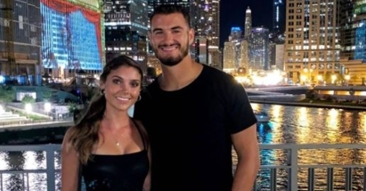 Mitch Trubisky's fiancee sends heartfelt thank you to Bears fans