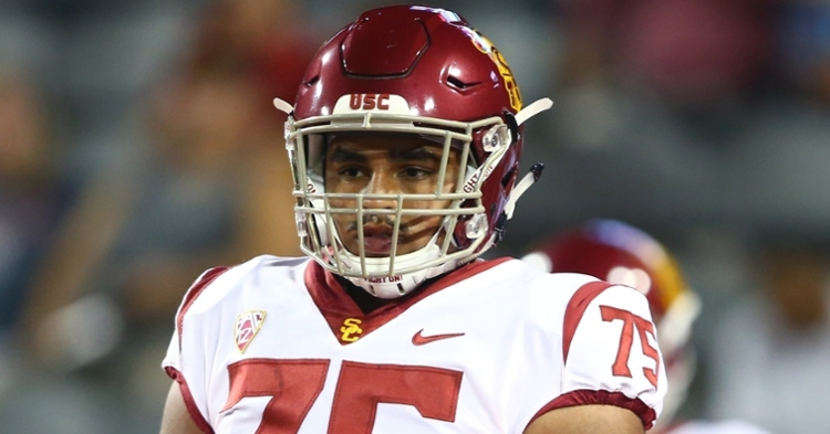 Tucker is a solid offensive line prospect (Mark Rebilas - USA Today Sports)