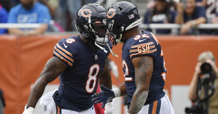 Bears running game was solid against the Lions (Quinn Harris - USA Today Sports)